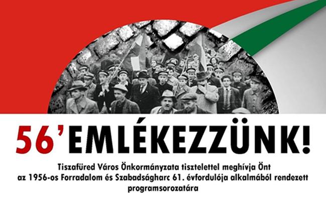 Október 23. Városi Ünnepség a 1956-os Forradalom és Szabadságharc emlékére